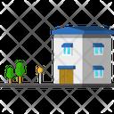 Villa House Home Icon