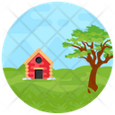 Scenery Nature Countryside Icon