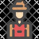 Villager Village Man Icon