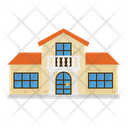 Villasuburban Home House Icon