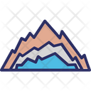 Vinson Massif Antarctica Mountains Icon