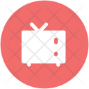 Vintage Tv Screen Icon