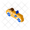 Old Car Cabriolet Icon
