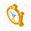 Clock Ring Isometric Icon