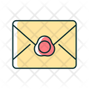 Envelope Wax Letter Icon