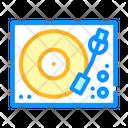 Music Turntable Stuff Icon