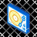 Music Turntable Isometric Icon