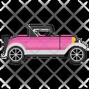 Vintage Jeep Car Transport Icon