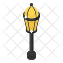 Vintage Lamp Streetlamp Streetlight Icon