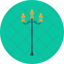 Vintage Lamp Object Icon