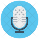 Vintage Microphone Mic Loud Icon