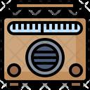 Vintage Radio Retro Radio Old Radio Icon