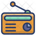 Vintage Radio Device Icon