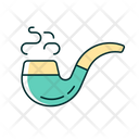 Tobacco Pipe Smoke Icon