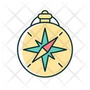 Style Compass Adventure Icon