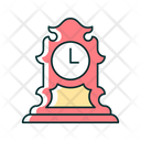 Clock Tabletop Time Icon