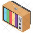 Vintage Television Icon