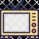 Old Tv Retro Tv Technology Icon