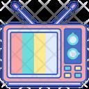 Vintage Tvtv Television Icon