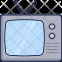 Vintage Tv Old Tv Tv Icon