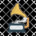 Vinyl Trumpet Instrument Icon
