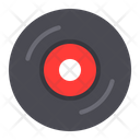 Vinyl Record Music Icon