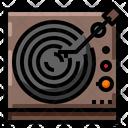 Vinyl Music Sound Icon