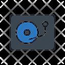Vinyl Disc Cd Icon