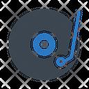Vinyl Cd Music Icon