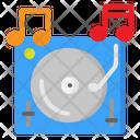 Turntable Dj Vinyl Icon