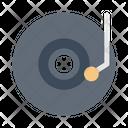 Vinyl Disc Compact Icon