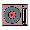 Player Vynil Disc Icon