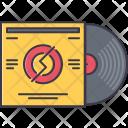 Vinyl Record Music Icon