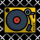 Vinyl Record Analogue Icon