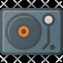 Vinyl Player Retro Icon