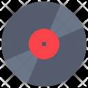 Music Market Record Vinyl Icon