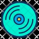 Record Turntable Vinyl Icon