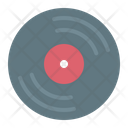 Vynil Disc Audio Icon