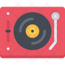 Vinyl Player Turntable Record Player Icon