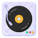 Music Player Vinyl Player Disc Jockey Icon