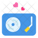 Vinyl Player Audio Player Music Player Icon