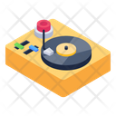 Music Player Vinyl Player Disc Player Icon