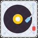 Music Player Vinyl Player Disc Jockey Icon