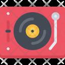 Vinyl Player Appliances Icon