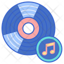 Vinyl Record Music Record Song Record Icon