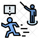 Violation Expel Escape Icon