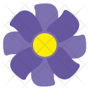 Violet flower Icon