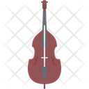 Contrabass Music Instrument Icon