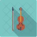 Violin Bow String Icon