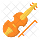 Violin Cello Music Icon